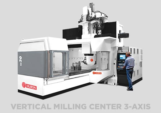 Vertical Milling Centers 3-Axis
