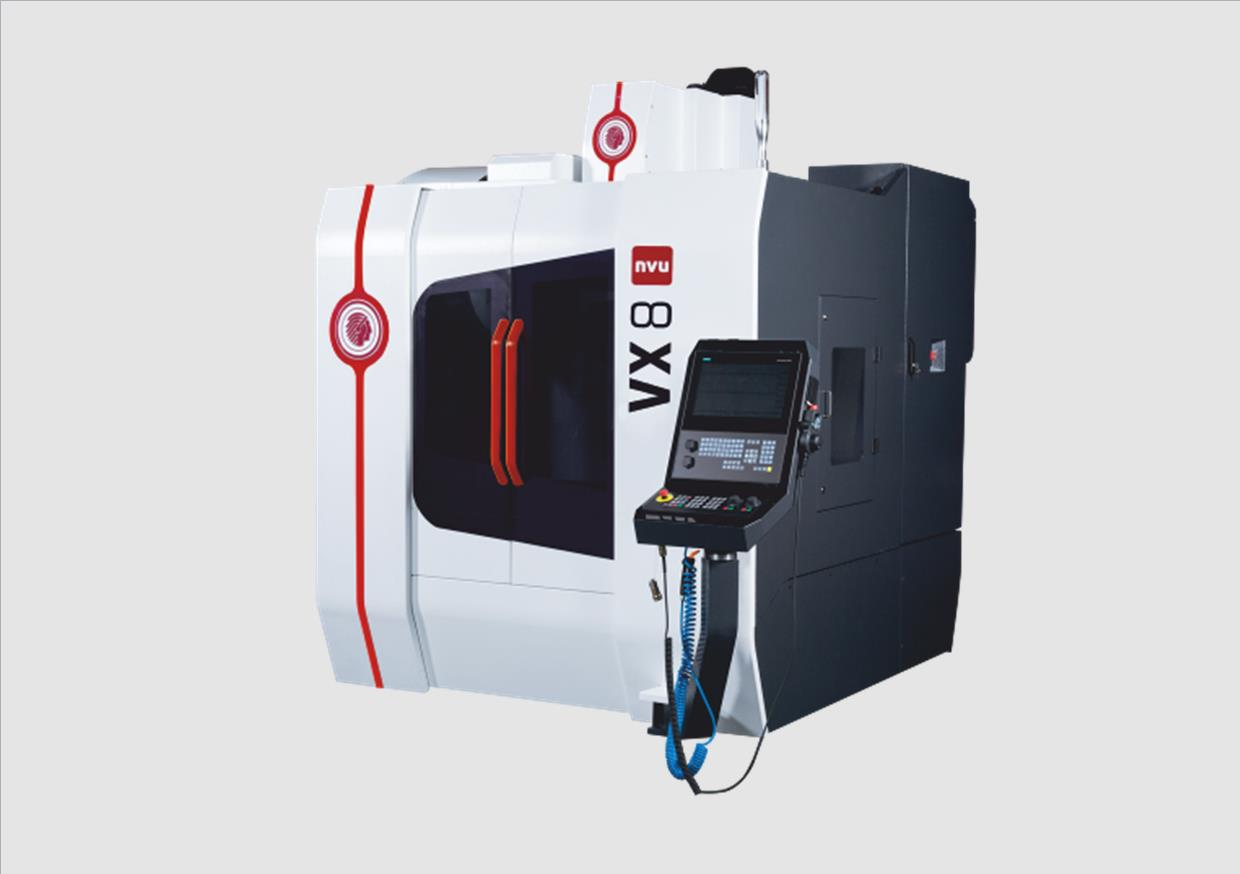 Vertical milling centers – 3 axes